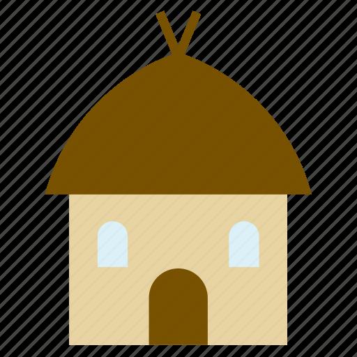 architecture, building, construction, cottage, hut, monument, mud house icon