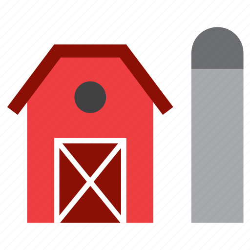 barn, building, construction, cowhouse, cowshed, farm, farming icon