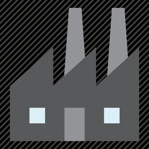 architecture, building, construction, factory, plant icon