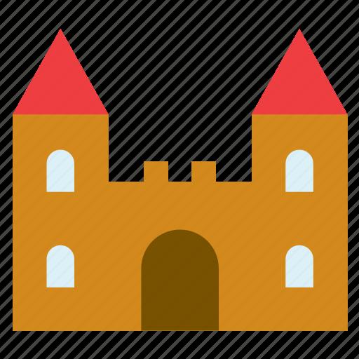 architecture, building, castle, construction, monument icon