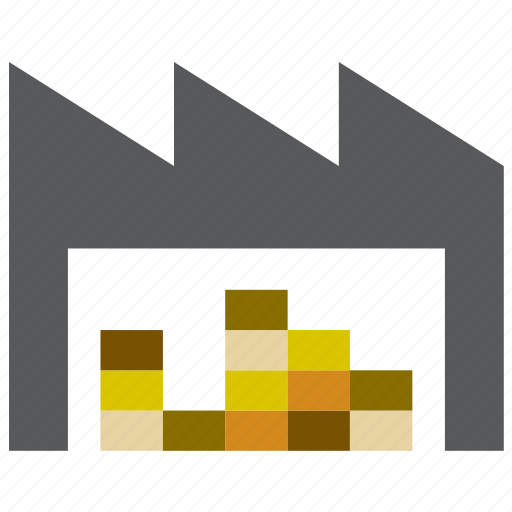 airport, building, cargo, construction, freight, warehouse icon