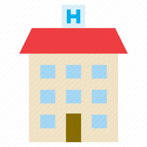 architecture, building, construction, hospital, medical icon