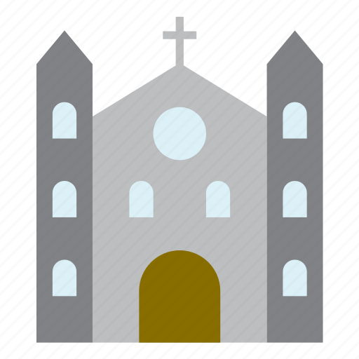 architecture, building, cathedral, church, construction, monument icon