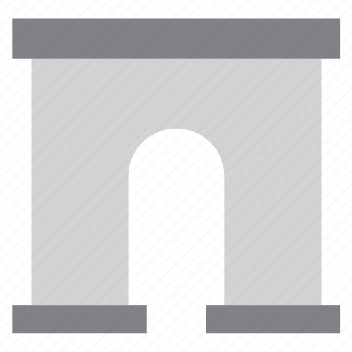 arch, architecture, building, construction, monument, triumph icon