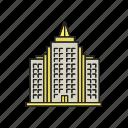 apartment, architecture, block, building, highrise, house, multistorey icon