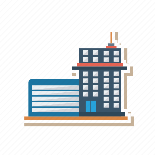 architect, building, estate, industrial, office, real, workplace icon