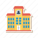 architect, building, college, estate, real, school, university icon