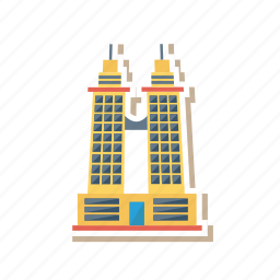 architect, building, commercial, estate, office, real, tower icon