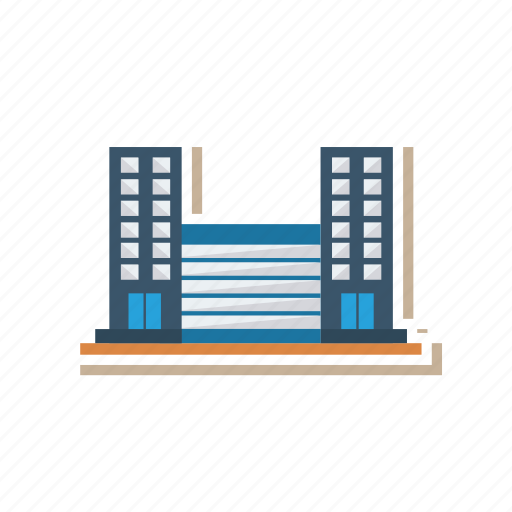 building, city, commercial, estate, place, real, town icon