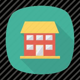 apartment, architect, building, construction, estate, place, real icon