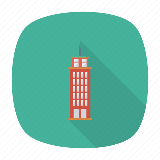 apartment, architect, building, estate, hotel, real, tower icon