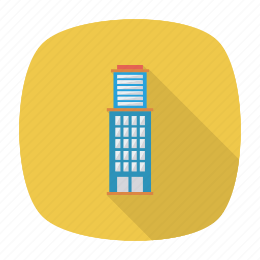 apartment, architect, building, estate, living, real, tower icon