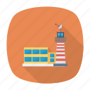 airport, architect, building, estate, real, room, tower icon
