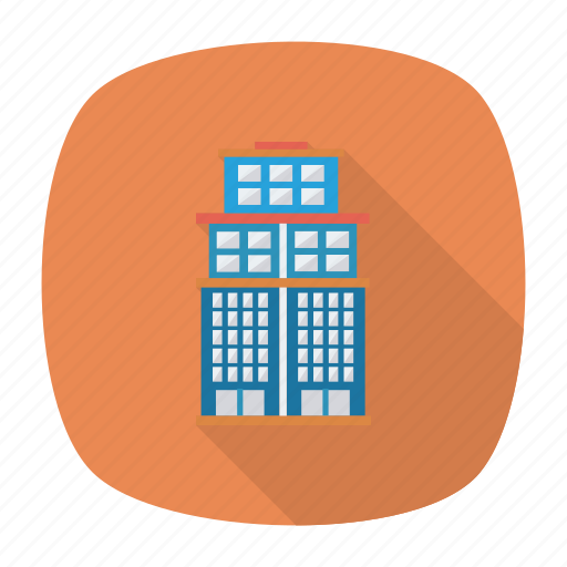 apartment, architect, building, city, estate, living, real icon