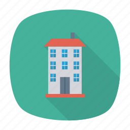 architect, building, city, estate, place, real, tower icon