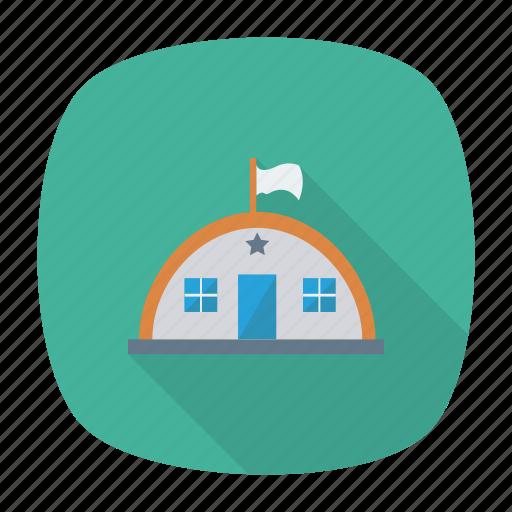 architect, building, estate, garage, home, hostel, real icon