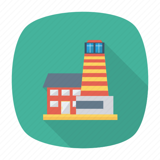 architect, building, commercial, estate, home, real, tower icon