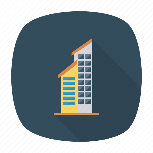 architect, building, estate, industrial, office, real, tower icon