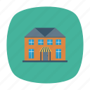 architect, building, estate, home, hostel, house, real icon