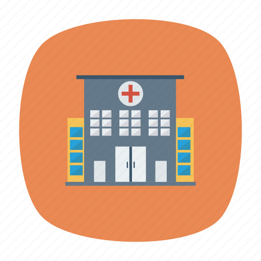 architect, building, clinic, estate, hospital, property, real icon