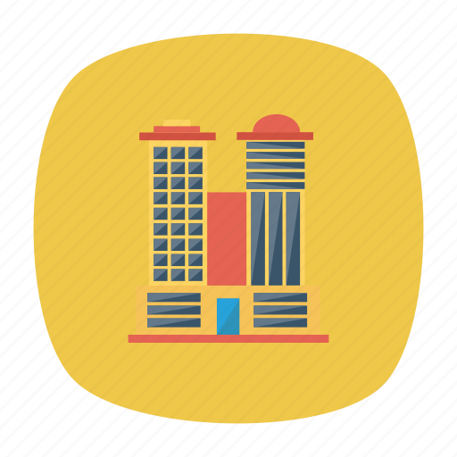 architect, building, estate, place, real, tower, work icon