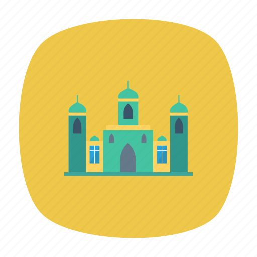 building, estate, masjid, mosque, muslim, pray, real icon