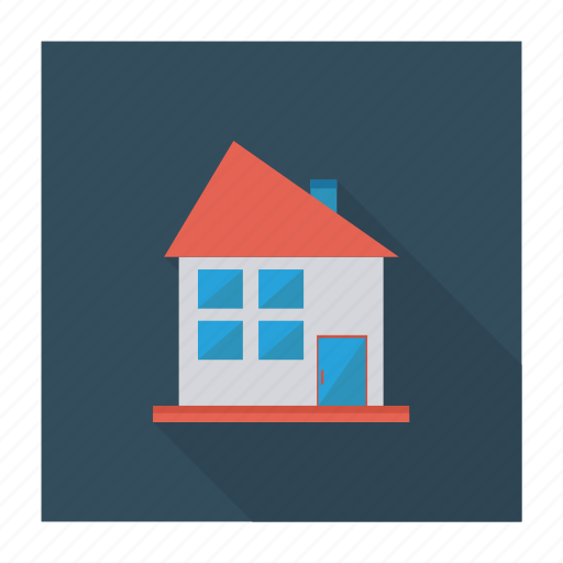 architect, building, estate, home, house, real, residential icon