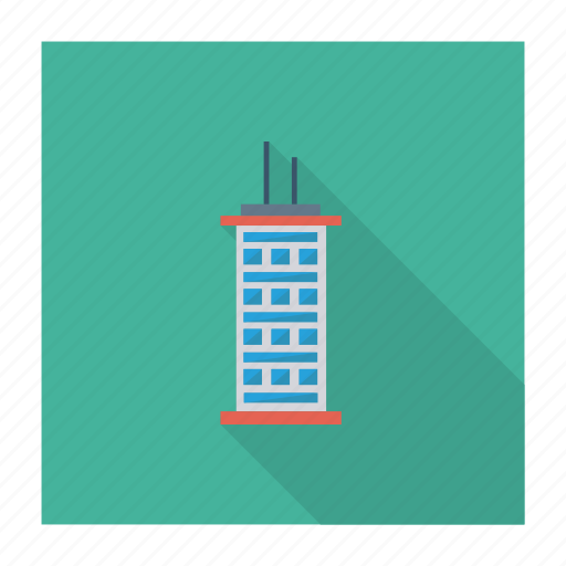 architect, building, estate, home, office, real, tower icon