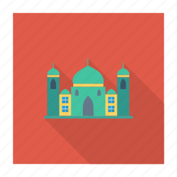 building, estate, masjid, mosque, muslim, pray, real icon