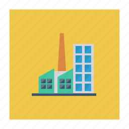 architect, building, comercial, estate, industry, real, tower icon