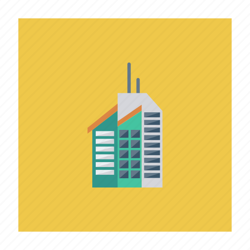 architect, building, construction, estate, office, real, tower icon