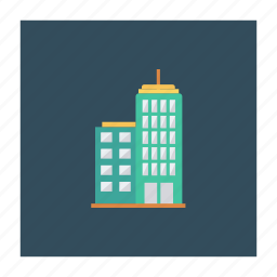 architect, building, city, estate, real, stockexchange, tower icon