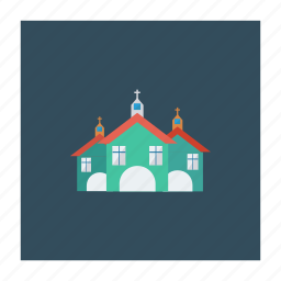 building, christian, christmas, church, estate, property, real icon