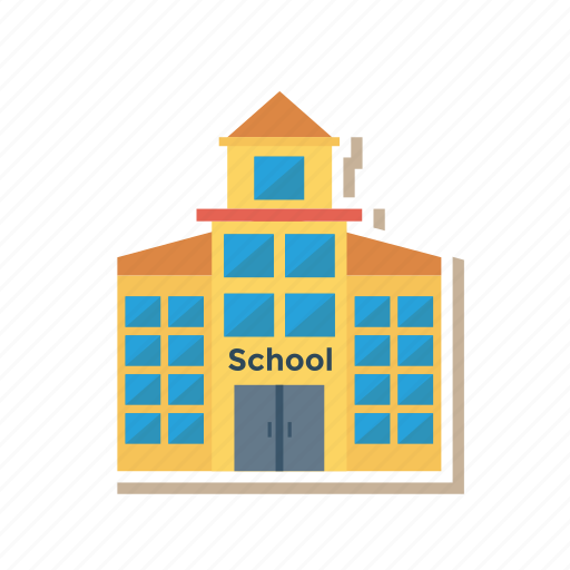 apartment, architect, building, construction, estate, real, school icon