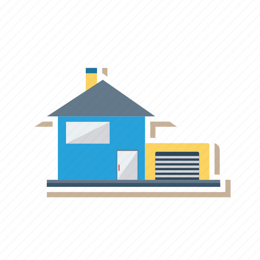 apartment, architect, building, estate, garaj, home, real icon