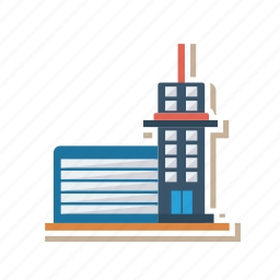 apartment, architect, building, estate, industry, real, tower icon
