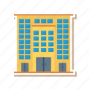 apartment, architect, building, company, estate, office, real icon