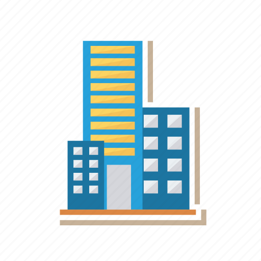 architect, building, business, company, estate, office, real icon