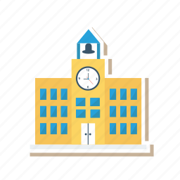 architect, building, college, estate, real, school, university icon