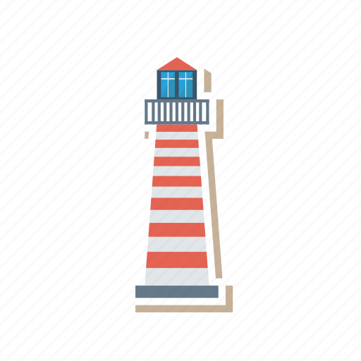 architect, building, estate, lighthouse, real, saw, tower icon