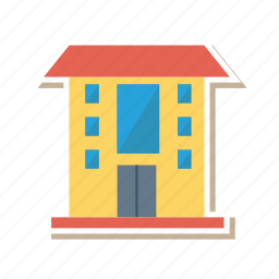 architect, building, business, estate, office, properity, real icon