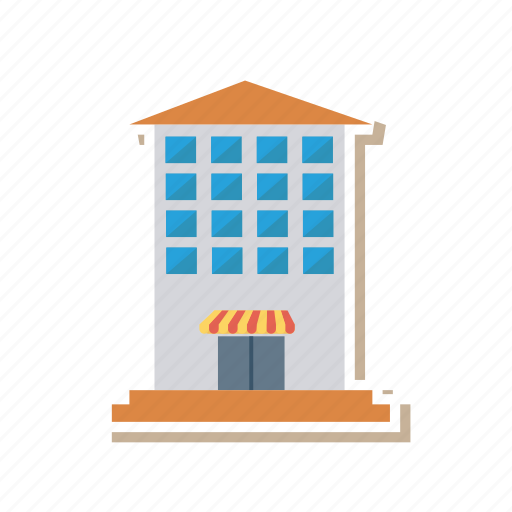 architect, building, estate, mall, real, shop, shopping icon