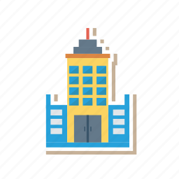 architect, building, estate, home, hostel, real, tower icon