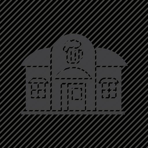 alehouse, bar, beerhouse, beershop, building, cafe, pub icon
