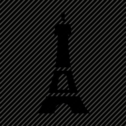 attraction, building, eiffel, france, monument, paris, tower icon