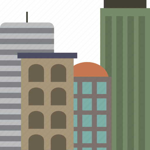 building, buildings, city, office, offices icon