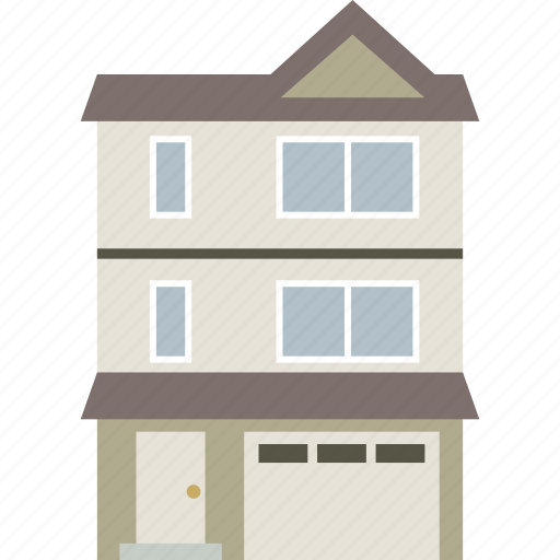 apartment, building, home, house, townhouse icon