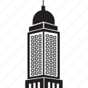 architecture, building, office, skyscraper icon