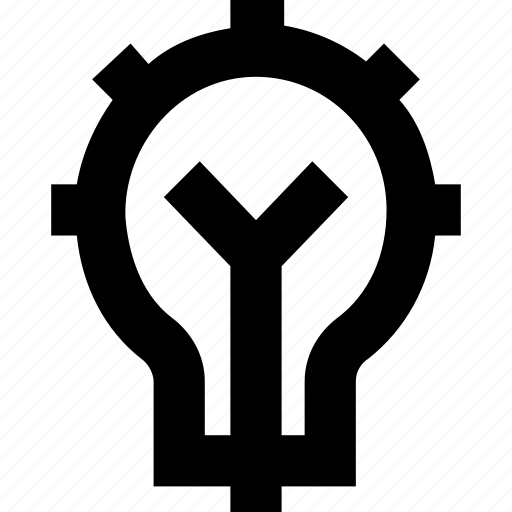 bulb, electricity, light, luminaire icon