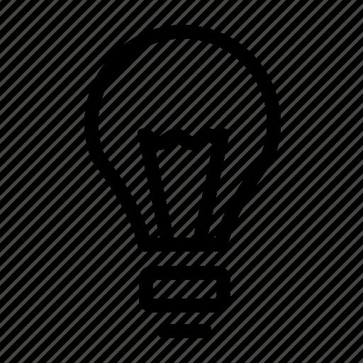 bulb, idea bulb, light bulb, science icon
